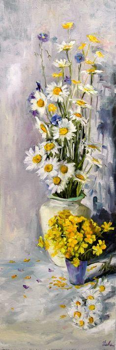 Les peintures d'Evhe, : Fleurs grand format