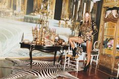 Anna Della Russo's Milan apartment by Juergen Teller - Blingtastic!
