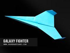 Paper airplane instructions / How to make a paper plane with Tri Dang. Como hacer un Avion de Papel que Vuela Mucho - Aviones de Papel Channel of the best pa...