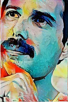 Freddie Mercury by Miguel Mazzetti Queen Freddie Mercury, Art Music, Music Artists, Music Lyrics, Fred Mercury, Freddie Mercuri, Rock And Roll, Rock Poster, Queen Art