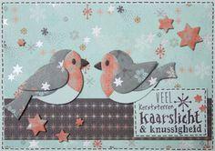 Marjoleine's blog: 6 kerstkaarten met paperbloc Eline's Silver Stars
