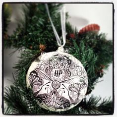 Harry Potter Christmas Ornament