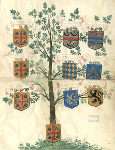 Preuves de noblesse faites par François de Chérité au nom de Charles le Chérité, 18 avril 1605 | Bibliothèque municipale d'Angers.