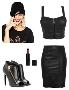 """""""<3"""" by ernyy ❤ liked on Polyvore featuring Tom Ford, adidas, women's clothing, women's fashion, women, female, woman, misses and juniors"""