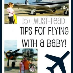 Tips for Flying with Baby -- nateandrachael.com