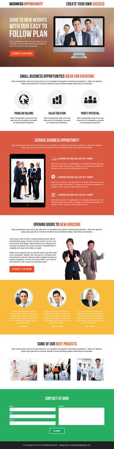 Top 10 optimized landing page designs 2014 to maximize your conversion rate | Landing page design templates