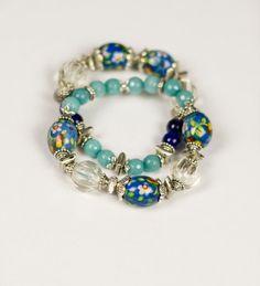 #Beaded #bracelets #Statement bracelets Bold by @KatHandmadeJewelry