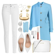 """""""Untitled #3978"""" by natalyasidunova ❤ liked on Polyvore featuring Paige Denim, Emilio Pucci, Jennifer Fisher, Gianvito Rossi, Michael Kors, Tiffany & Co., Lord & Taylor, Lipsy, Chicnova Fashion and Tory Burch"""