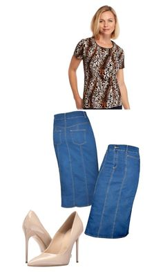 """Michelle 6.26.16"" by fashionqueen1995 on Polyvore featuring Kim Rogers, Kosher Casual and Massimo Matteo"