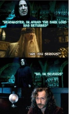 harry potter humor whats not to love?
