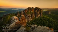 Beauty Revealed - Schrammsteine Saxon Switzerland National Park Saxony Germany