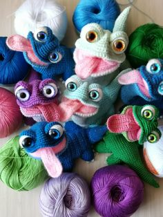Amigurumi Toys, Softies, Plushies, Crochet Animals, Crochet Toys, Knit Crochet, Frog Crafts, Knitted Cat, Chameleon