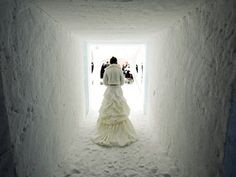 Ice Chapel Wedding....just in case Chloe chooses a winter wedding.....