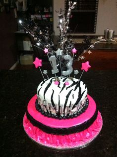 Kenedys 13 birthday cake Products I Love Pinterest 13th