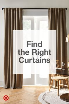 Choose the best door & window curtains by length & function from sheer to blackout to tier & valance. Choose the best door & window curtains by length & function from sheer to blackout to tier & valance. Cafe Curtains, Drapes Curtains, Valance, Hanging Curtains, Curtain For Door Window, Kitchen Pantry Design, Colorful Interior Design, Comfy Bedroom, Living Room Arrangements