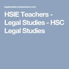 Legal Studies media studies in australia