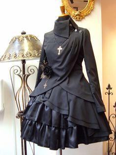 Goth Fashion Tips To Fit All Style Preferences Pretty Dresses, Beautiful Dresses, Moda Lolita, Estilo Lolita, Gothic Lolita Fashion, Steampunk Fashion, Gothic Lolita Dress, Steampunk Clothing, Diy Kleidung