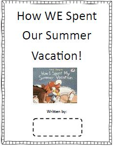 Vacation In The Mountains Essay