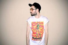 VANITAS w naszej koszulce - Barbarella w sukience Paco Rabanne! by Noh8Syndicate