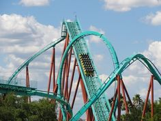 Kumba Busch Gardens Tampa. This beast is so much fun!! Loads of inversions!