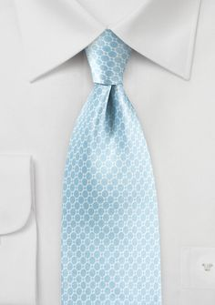 Geometric Print on Satin Silk in Dream Blue - This dream blue tie is part of Cantucci s new Satin Silk Print collection. The soft blue color paired with intricate geometric Blue Ties, Blue Bow, Designer Ties, Color Pairing, Light Blue Color, Wedding Ties, Silk Satin, David Gandy, Mens Fashion