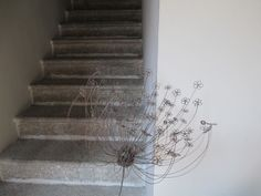 Carrot Flowers, Stairs, Home Decor, Stairway, Decoration Home, Room Decor, Staircases, Home Interior Design, Ladders