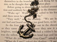 Navy wife necklace,.. this would be SUCH a cool tattoo!!
