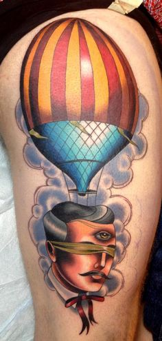 Tattoos - Joshua Bowers - Head in the Clouds