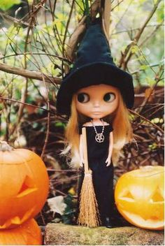 Blythe Halloween soy una brujita