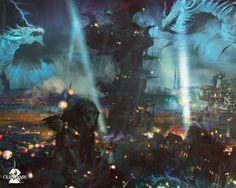 """Das erste Fest-Wochenende vom Drachen-Gepolter Festes des MMORPGs Guild Wars 2 ist überstanden und wurde mit einem riesen Feuerwerk hoch im Himmel der Stadt Löwenstein gefeiert und viele haben sich den Eventgegenstand """"Hörner des Drachen"""" gesichert. Aber damit nicht genug, das Living...    Kompletter Artikel: http://go.mmorpg.de/9v"""