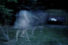 spirits creeping in the yard