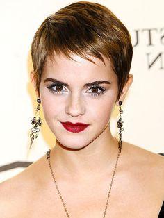 Emma Watson Pixie Cut