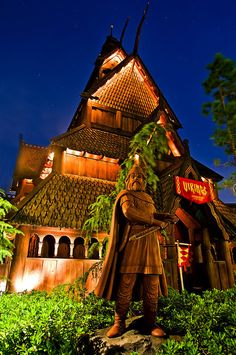 Norway Pavilion at Epcot, Walt Disney World, FL...Love this place
