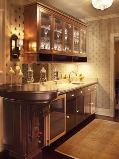 Built In Bar Design, Pictures, Remodel, Decor and Ideas - page 3 Wet Bar Designs, Game Room Decor, Game Rooms, Blue Home Decor, New Kitchen Cabinets, Cuisines Design, Traditional Kitchen, Cabinet Design, Bars For Home