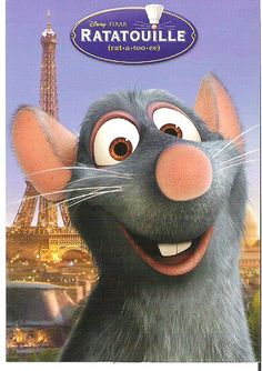 Ratatouille!!!! love this movie!!
