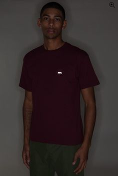 OBEY FONT REFLECTIVE BASIC TEE  Heavyweight, regular fit tee with inset rib crew neck.  100% COTTON