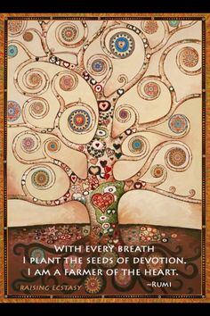 Explore inspirational, rare and mystical Rumi quotes. Here are the 100 greatest Rumi quotations on love, transformation, existence and the universe. Rumi Poem, Rumi Quotes, Inspirational Quotes, Rilke Quotes, Buddha, Healing Heart, Tree Art, Tree Of Life, Yorkshire