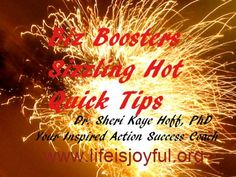 A sizzling hot quick tip