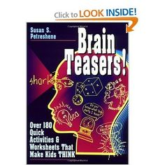 Critical thinking activities in patterns imagery logic secondary