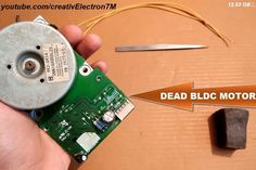 Make a Powerful Generator From a Dead BLDC Motor:: 3 Steps (with Pictures) Dremel Tool Projects, Pvc Pipe Projects, Diy Electronics, Electronics Projects, Motor Generator, Electronic Circuit Projects, Perpetual Motion, Energy Projects, Wind Power