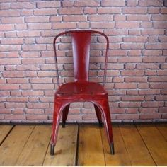 Tolix Chair Type A - Red. Beautiful Christmas Gift! #LaBoutiqueVintage www.laboutiquevintage.co.uk