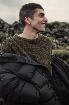 Mitch in Iceland