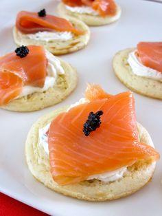 Blinis au saumon : Diet & Délices - Recettes dietétiques