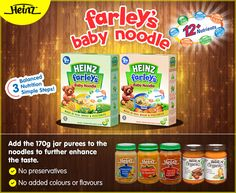 Have you tried adding our jarred purees to enhance the taste of our Baby Noodles? It's a tried and tested idea that has been loved by moms. :)