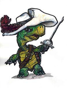 Touché Turtle