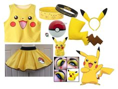 """Pika? Pikachu"" by musicmelody1 ❤ liked on Polyvore featuring York Wallcoverings"