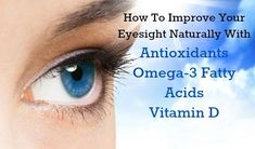How to improve your eyesight naturally and Ditch your glasses forever with real food! http://exci.se/15dxf