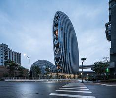 Lè Architecture by Aedas in Taipei, Taiwan