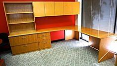 Geiger Brickel Retro personal office desk bookcase