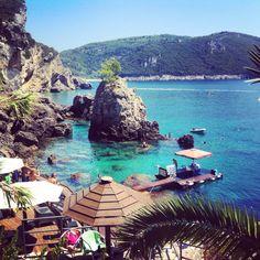 Corfù - La grotta Corfu Greece, Water, Outdoor Decor, Photography, Travel, Corfu, Greece, Vacation, Water Water